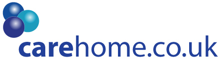 logo with carehome.co.uk written